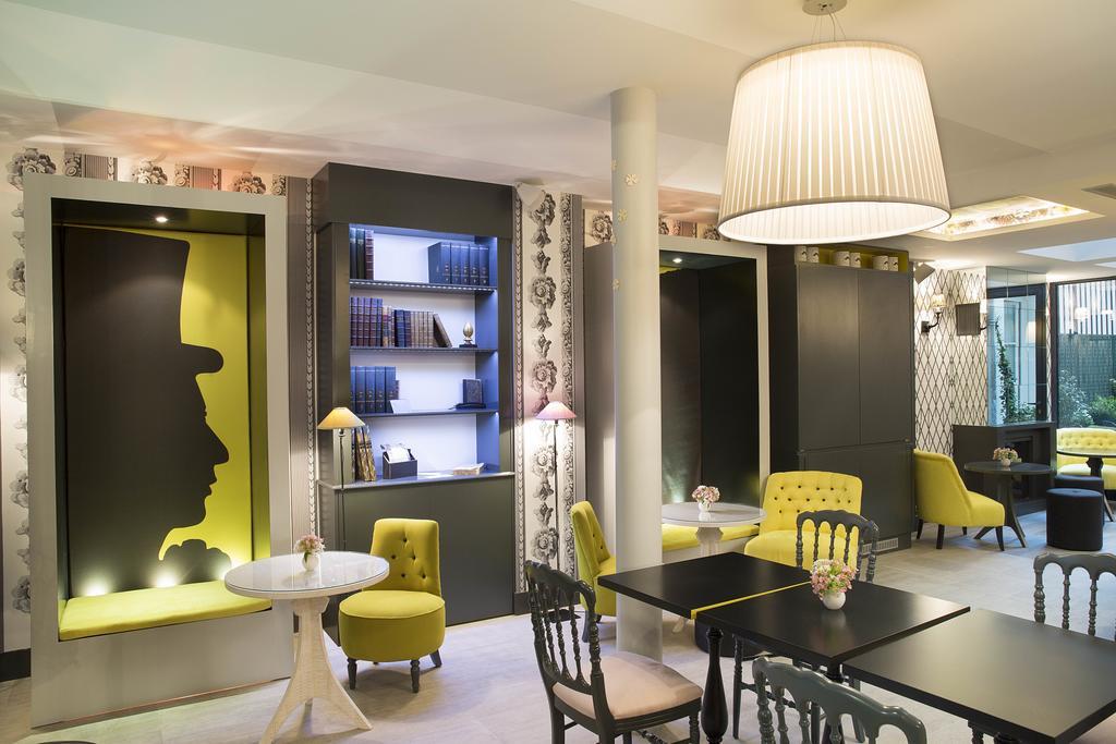 Les Plumes hotel paris