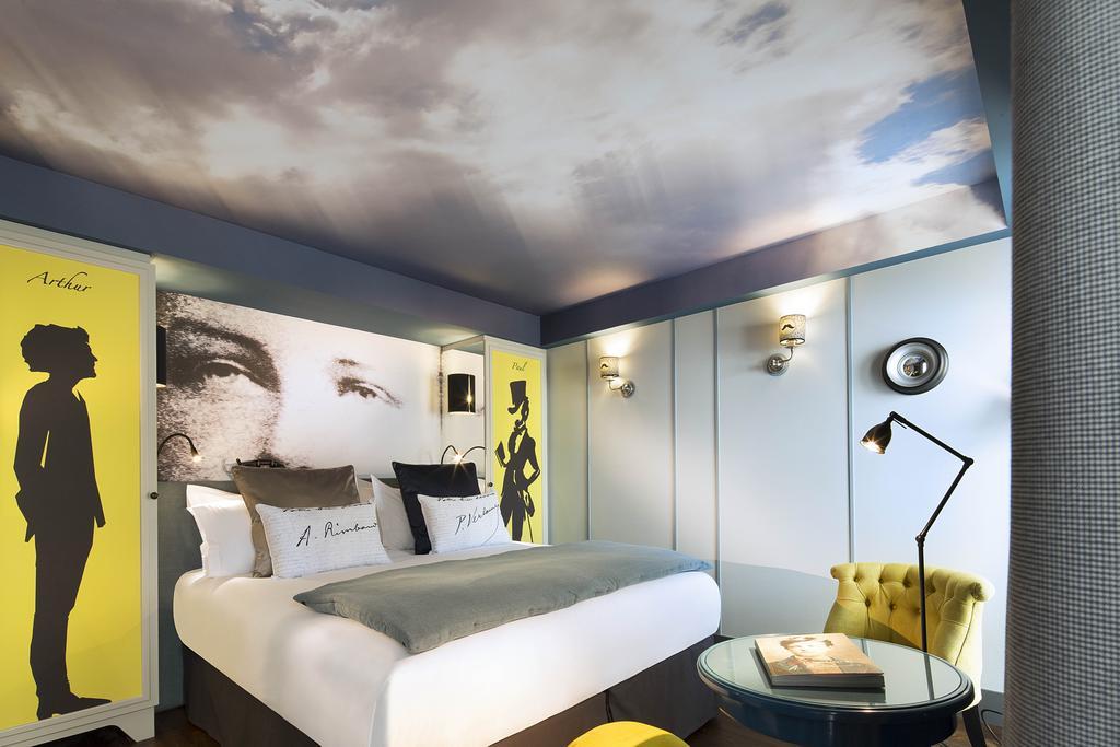 Les Plumes hotel paris 14
